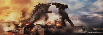 Godzilla vs. Kong - Hugely entertaining