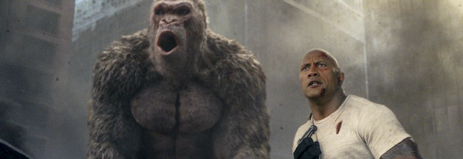 Rampage - No monkeying about
