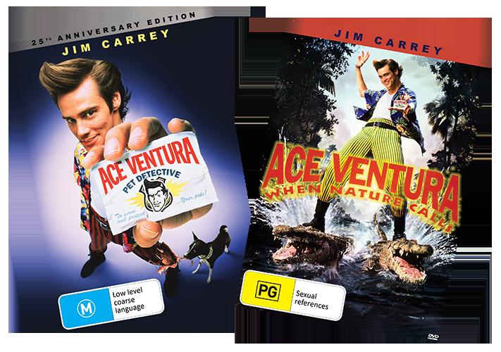 Ace Ventura: Pet Detective & When Nature Calls giveaway