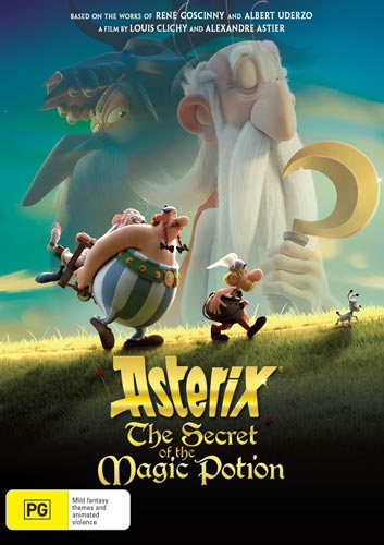 Asterix: The Secret of the Magic Potion giveaway