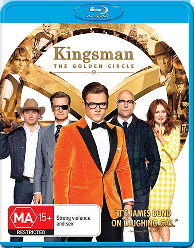 Kingsman: The Golden Circle giveaway