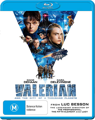 Win one of five copies of 'Valerian And The City Of A Thousand Planets' on Blu-ray