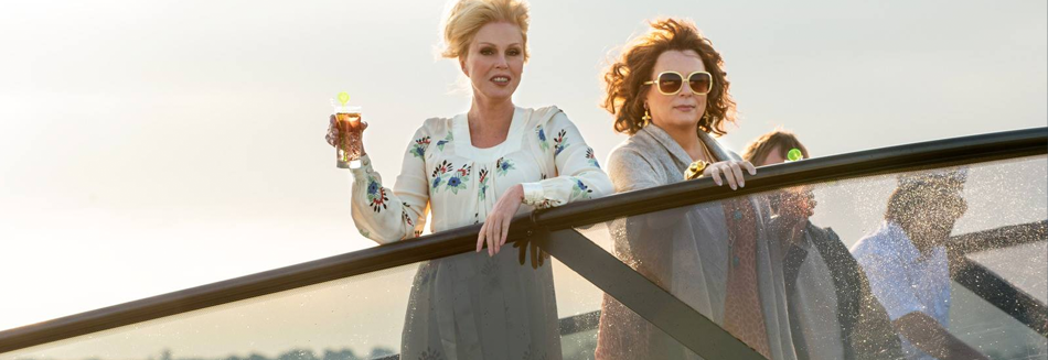 review, Absolutely Fabulous: The Movie, Absolutely, Fabulous:, The, Movie, film, movie, latest movies, new movie, movie ratings, current movie reviews, latest films, recent movies, current movies, movie critics, new movie reviews, latest movie reviews, latest movies out, the latest movies, review film, latest cinema releases, Australian reviews, cinema, cinema reviews, Jennifer Saunders, Loanna Lumley, Julia Sawalha, Jane Horrocks, June Whitfield, Mandie Fletcher
