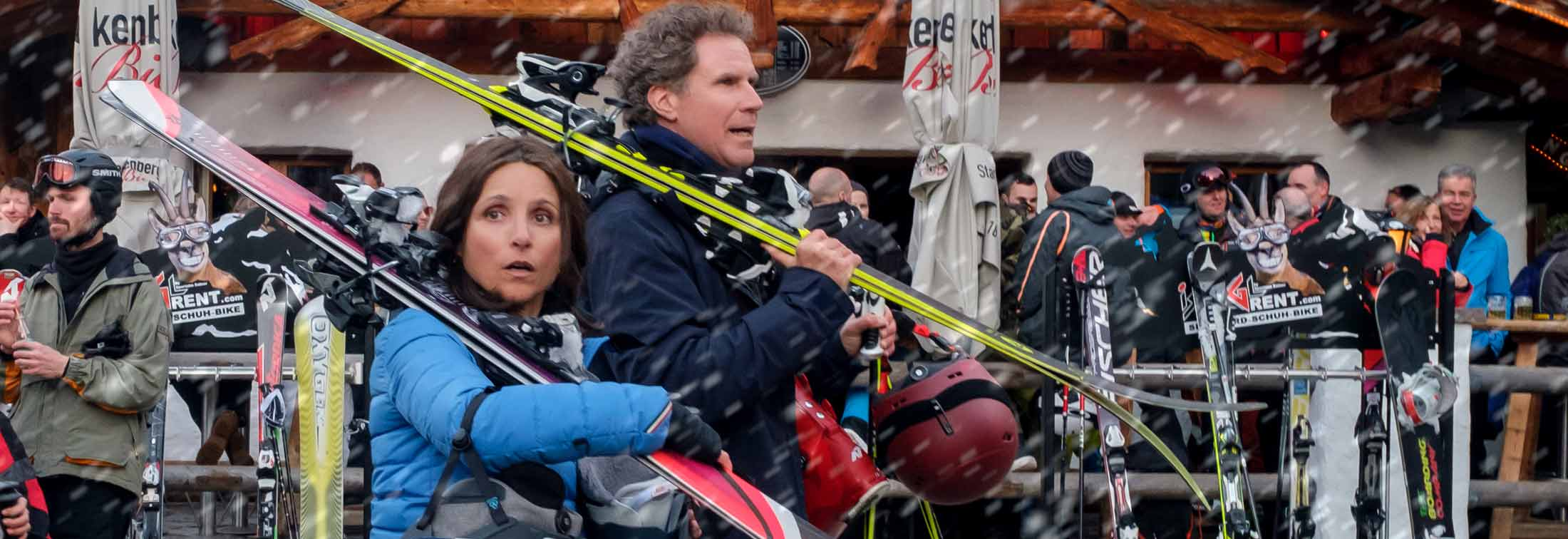 Downhill - A slippery slope for Julia Louis-Dreyfus and Will Ferrell