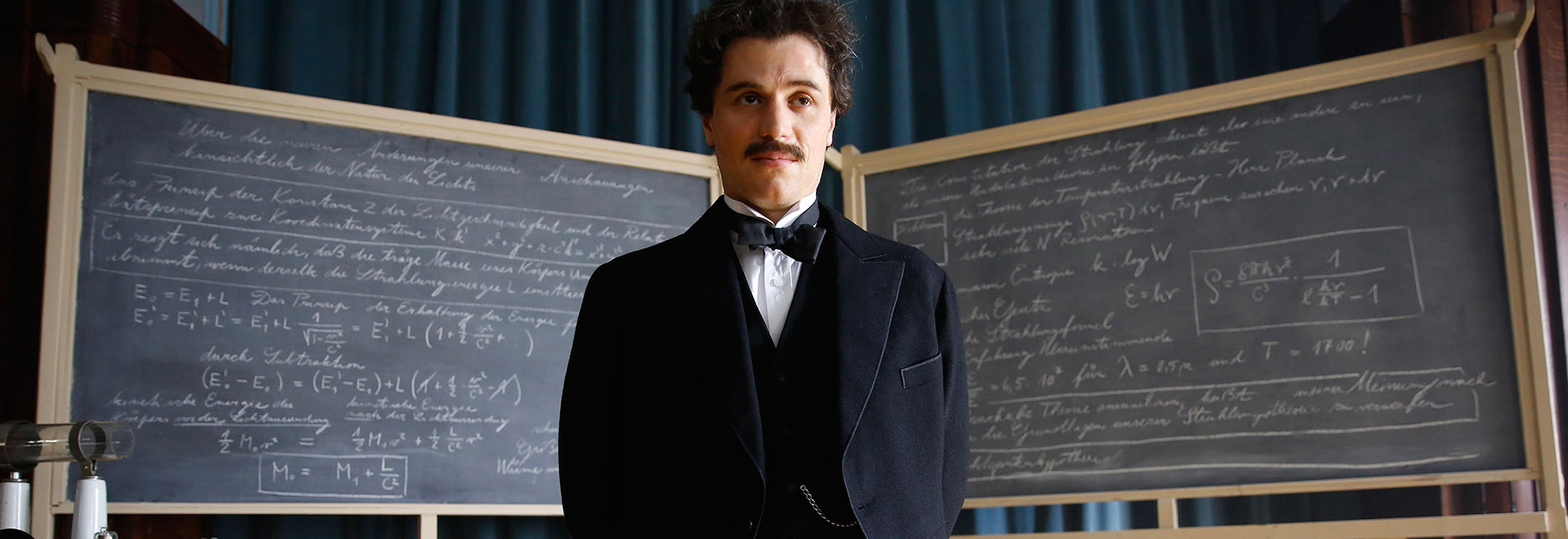 Genius: The Complete First Season - A fascinating portrait of Albert Einstein on DVD
