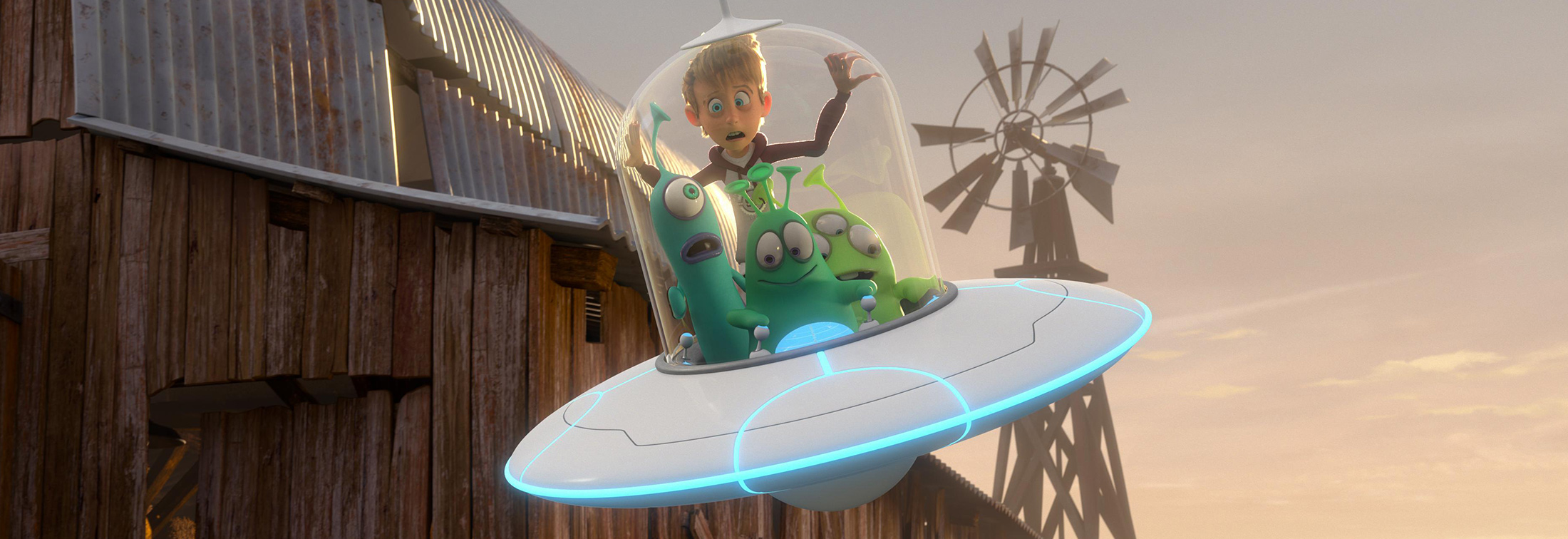 Luis and the Aliens - Take off with this exciting adventure for the whole family