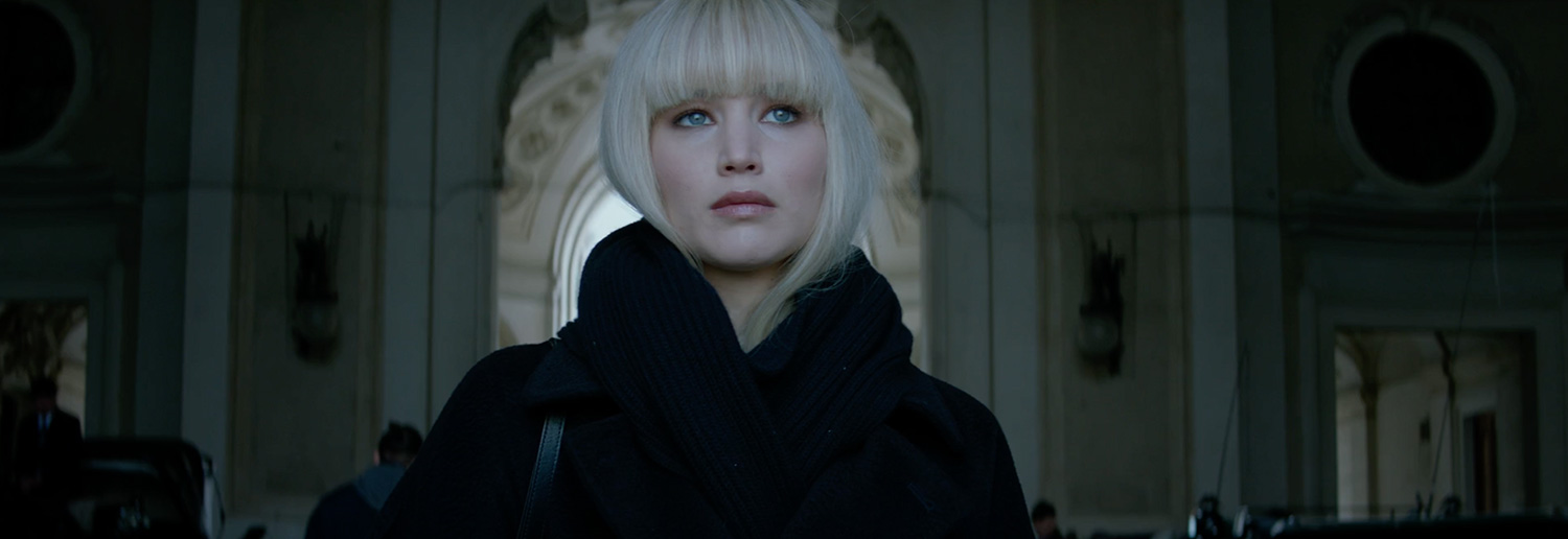 review, Red Sparrow, Red, Sparrow, film, movie, latest movies, new movie, movie ratings, current movie reviews, latest films, recent movies, current movies, movie critics, new movie reviews, latest movie reviews, latest movies out, the latest movies, review film, latest cinema releases, Australian reviews, home entertainment, DVD, Blu-ray, Jennifer Lawrence, Joel Edgerton, Jeremy Irons, Joely Richardson, Matthias Schoenaerts, Charlotte Rampling, Mary-Louise Parker, Ciarán Hinds, Thekla Reuten, Douglas Hodge, Francis Lawrence, Thriller