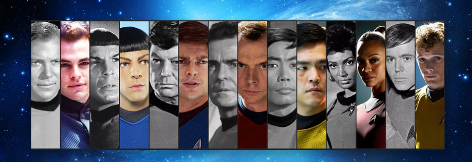 Star Trek - The evolution of a universe