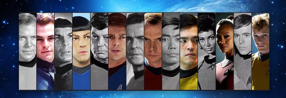 Star Trek - The evolution of a universe
