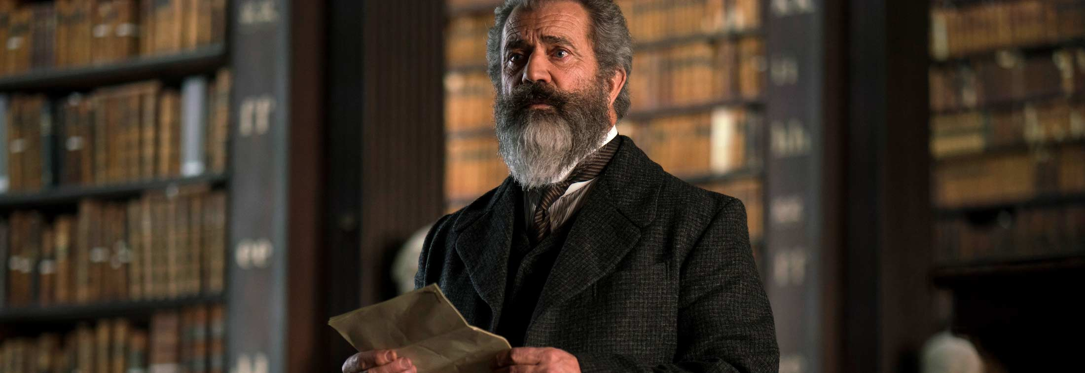The Professor and the Madman - Mel Gibson's dictionary origin story a dry read